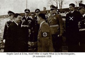 Regele Mihai şi Adolf Hitler